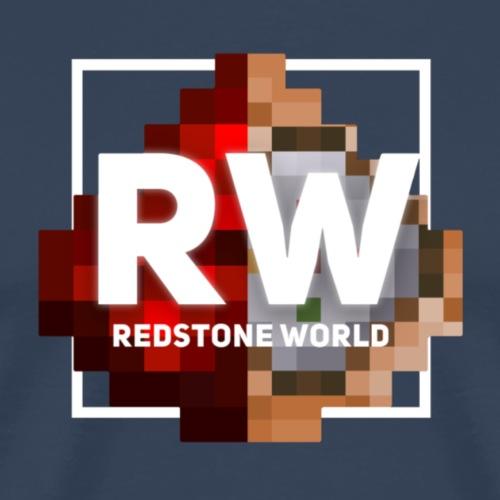 Redstone World Logo | TheJoCraft - Männer Premium T-Shirt