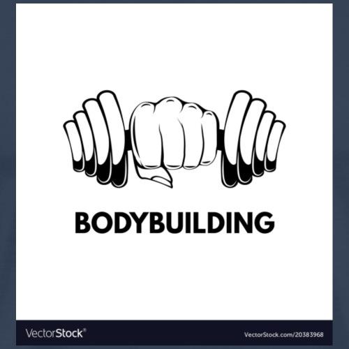 Bodybuilding, kropps byggare - Premium-T-shirt herr
