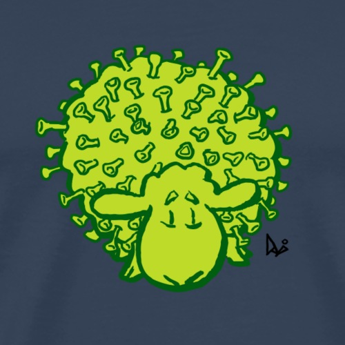 Virus sheep - Men's Premium T-Shirt