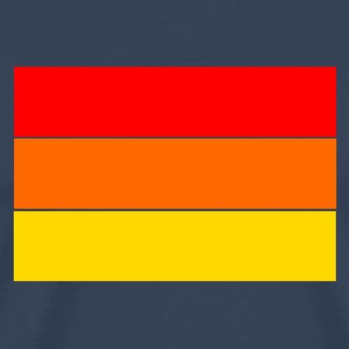 Half rainbow - Männer Premium T-Shirt