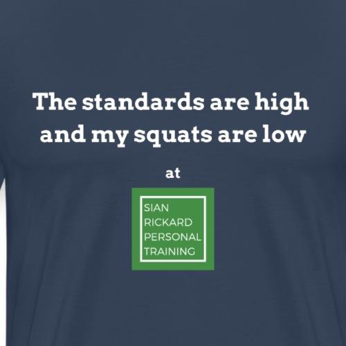 TShirt Squat - Men's Premium T-Shirt