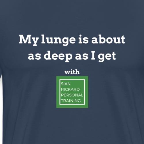 SRPT Deep Lunge - Men's Premium T-Shirt
