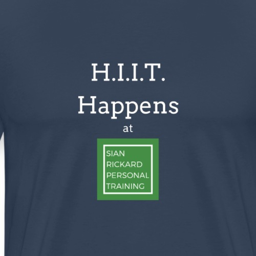 HIIT Happens - Men's Premium T-Shirt