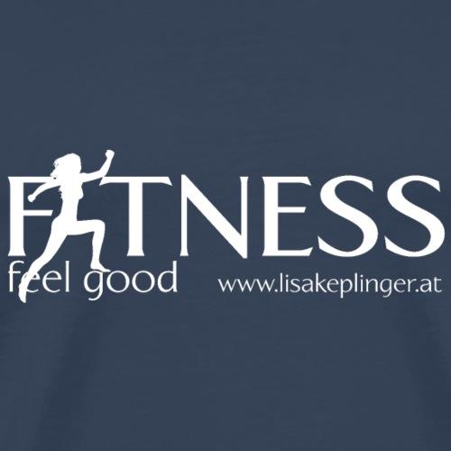 Fitness Logo - Männer Premium T-Shirt