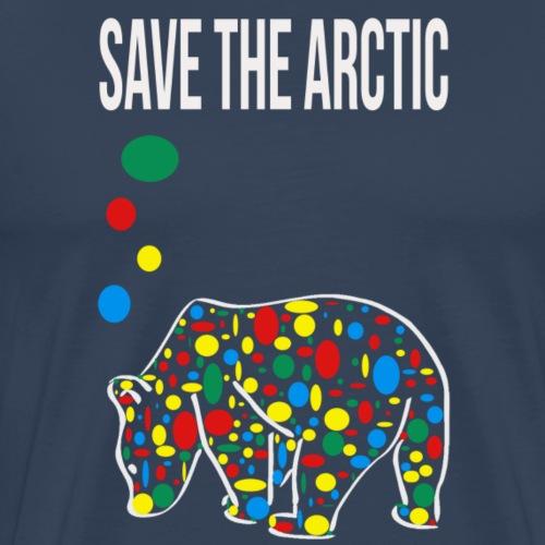 Save the Arctic - T-shirt Premium Homme