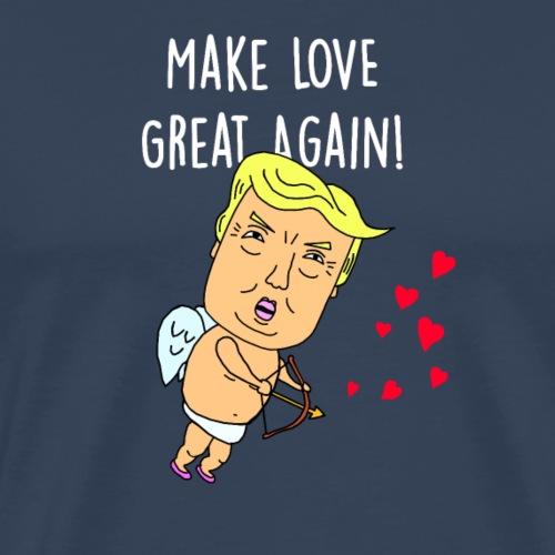 Make Love Great Again! - Herre premium T-shirt