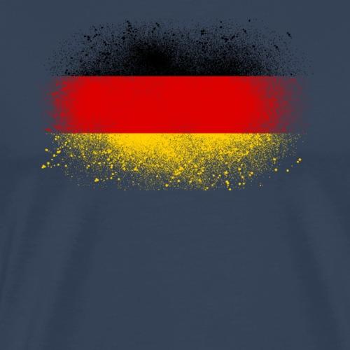 Allemagne cadeau drôle de drapeau allemand grunge - T-shirt Premium Homme