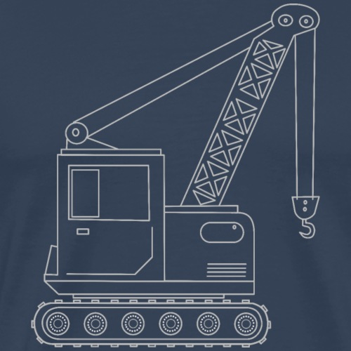camion grue 1 - T-shirt Premium Homme