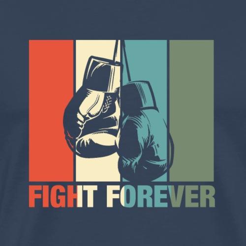 retro boxing forever - Männer Premium T-Shirt