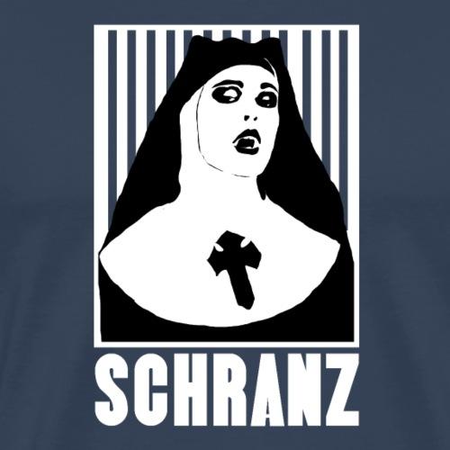 elektro schranz nonne - Männer Premium T-Shirt