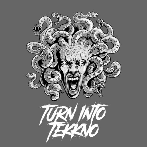 Mythology Meduza - Turn into Tekkno - Männer Premium T-Shirt
