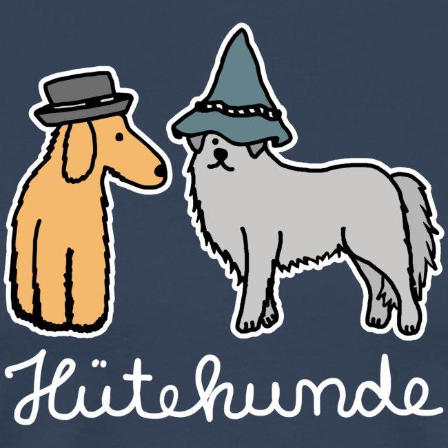 Hütehunde Hunde mit Hut Huetehund