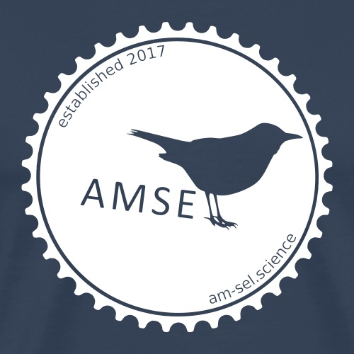AMSEL LOGO - Männer Premium T-Shirt