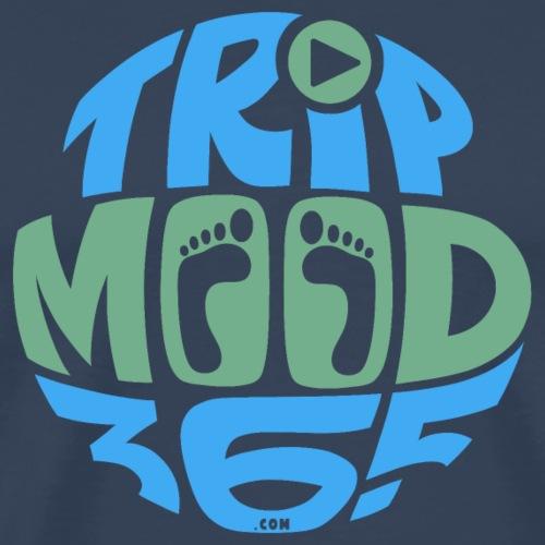 TRIPMOOD365 Traveler Clothes and Products- Colors - Miesten premium t-paita
