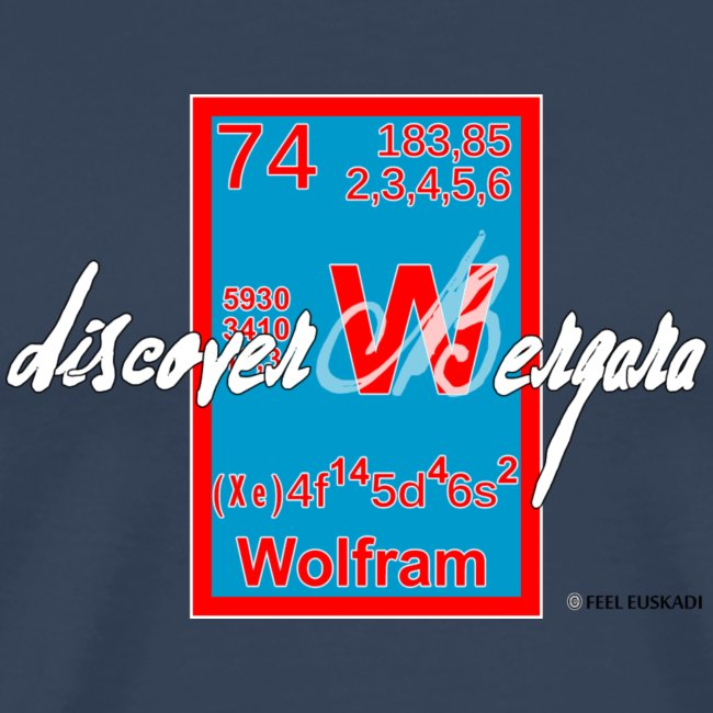 Wolfram the treasure of Bergara