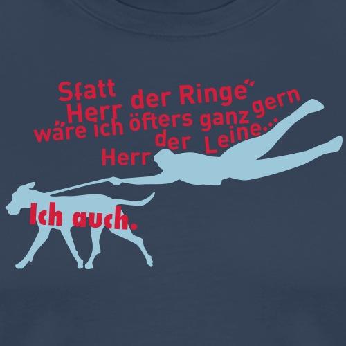 Herren der Leine - Männer Premium T-Shirt