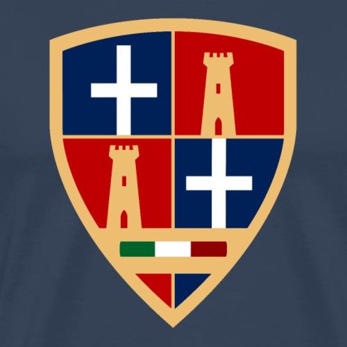 Sardegna - Stemma Sassari - Maglietta Premium da uomo