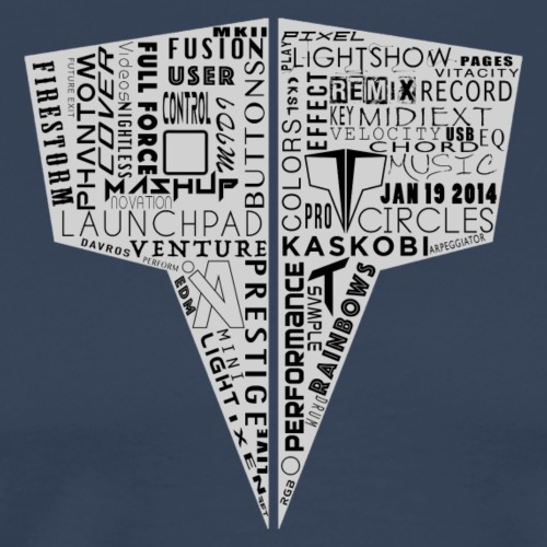 Word Logo // Kaskobi - Men's Premium T-Shirt