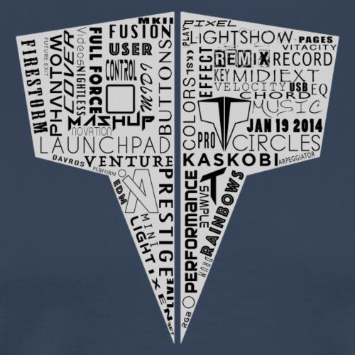 Word Logo // Kaskobi - Men's Premium T-Shirt