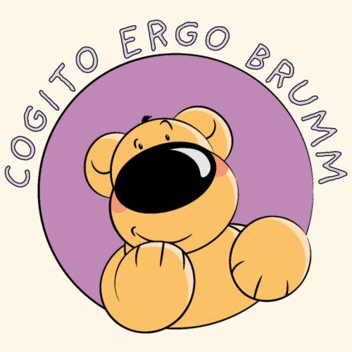 Cogito ergo brumm - Männer Premium T-Shirt