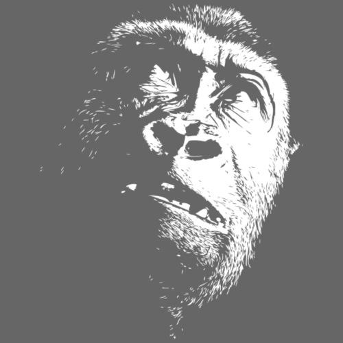 Gorilla head - White Edition