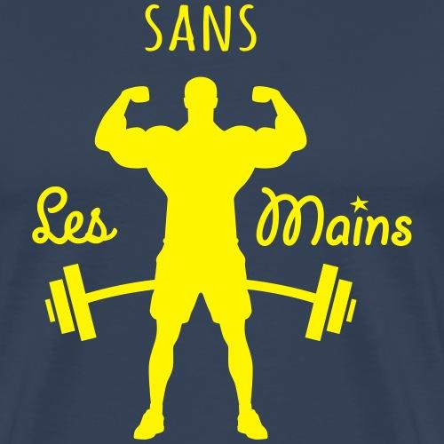 musculation sans les main - T-shirt Premium Homme