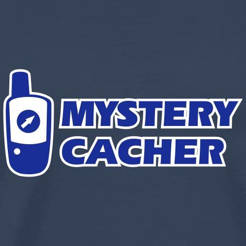Outdoor-Adventure GPS Geocaching Mystery Cacher - Männer Premium T-Shirt