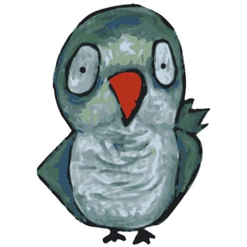 green parrot - Maglietta Premium da uomo