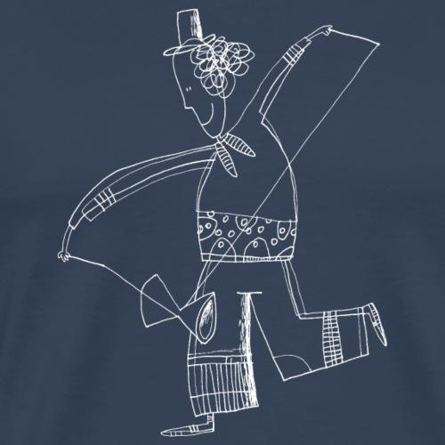 Diabolo Juggler 004 - Mannen Premium T-shirt