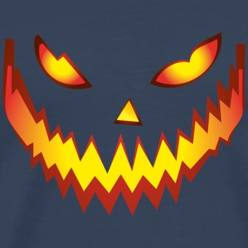 Halloween Face03 - Camiseta premium hombre
