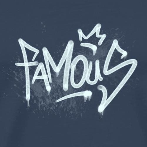 Famous Graffiti - Männer Premium T-Shirt
