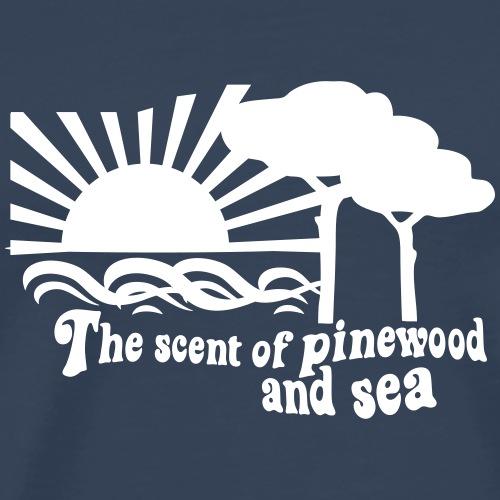 The scent of pinewood and sea - Maglietta Premium da uomo