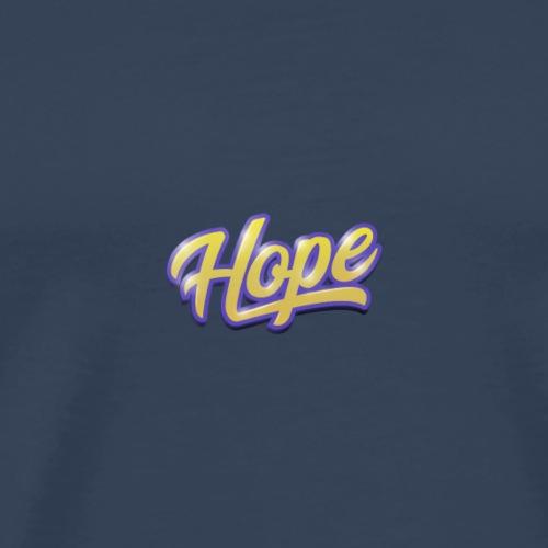 Hope lettering - Camiseta premium hombre