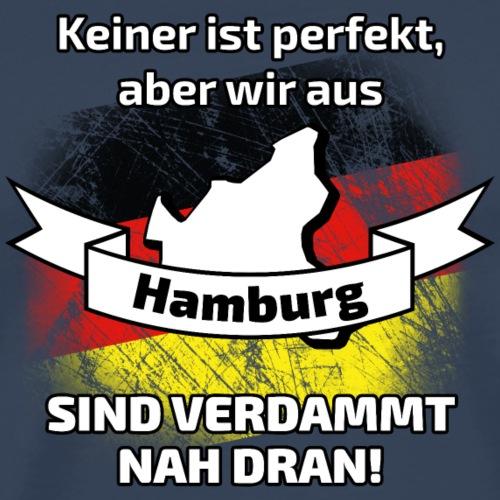 Perfekt Hamburg - Männer Premium T-Shirt
