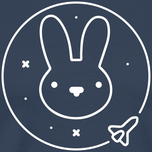 Space Bunny - To Venus And Beyond - Männer Premium T-Shirt