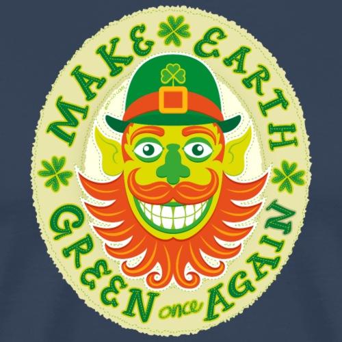 Make Earth green once again - Men's Premium T-Shirt