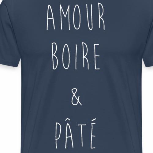 Amour Boire n Pâté - T-shirt Premium Homme