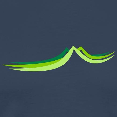 Three Hills - Männer Premium T-Shirt