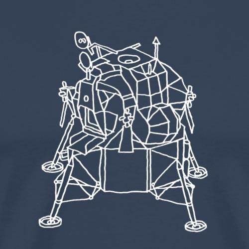 Mondladefähre LEM weiss - Männer Premium T-Shirt