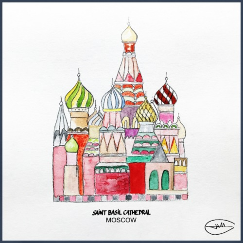 saint basil cathedral moscow - T-shirt Premium Homme