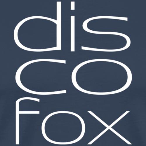 Discofox weiß - Männer Premium T-Shirt