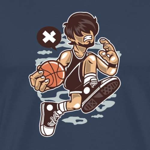 Basketballspieler - Männer Premium T-Shirt