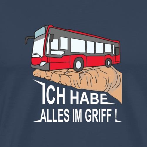 Bus III weiss - Männer Premium T-Shirt
