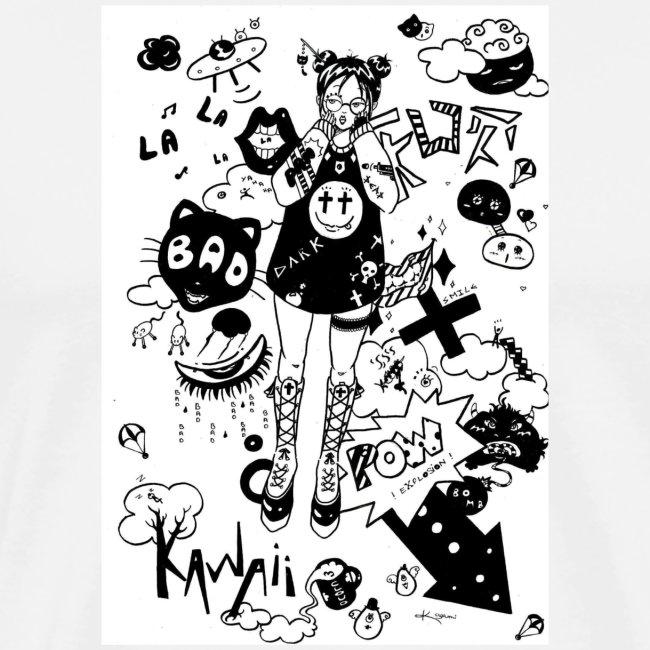 japanese girl : mess idea