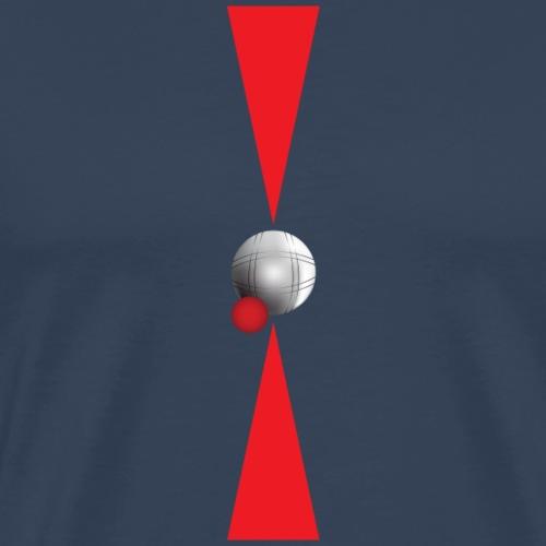 Petanque Minimalisme - T-shirt Premium Homme