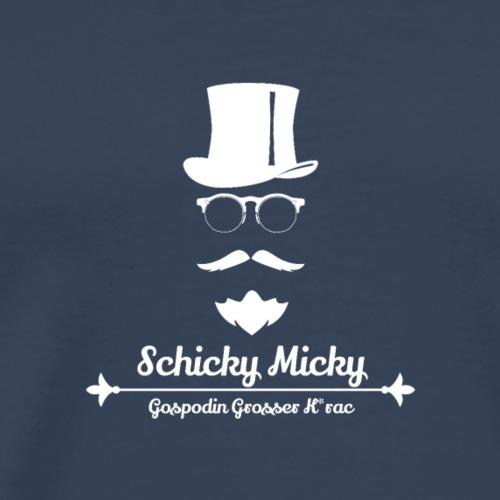 Schicky Micky Grosser K Weiss - Männer Premium T-Shirt