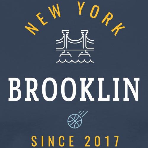 NEW YORK - BROOKLIN - Maglietta Premium da uomo