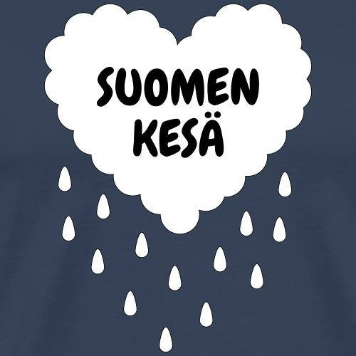 Suomen kesä - Miesten premium t-paita