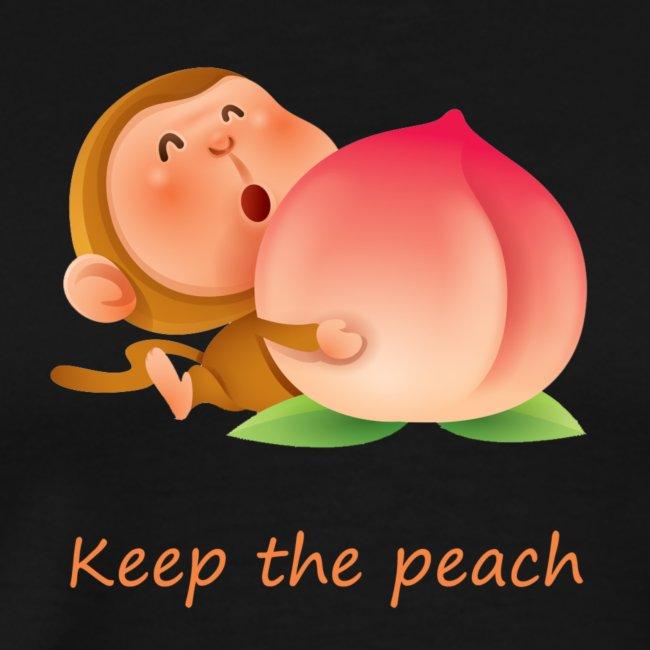 Monkey Keep the peach