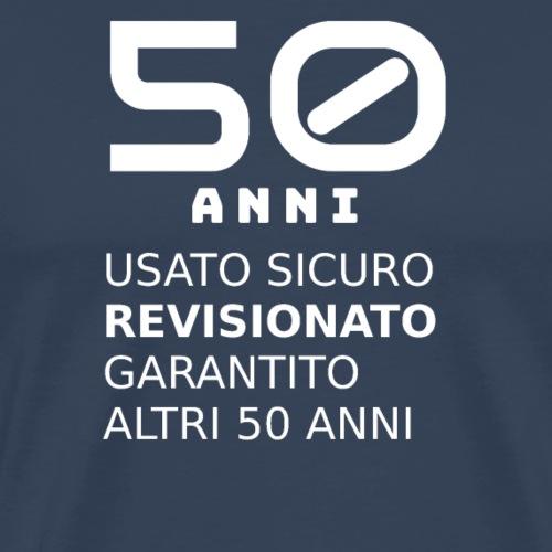 50 anni usato sicuro - Maglietta Premium da uomo